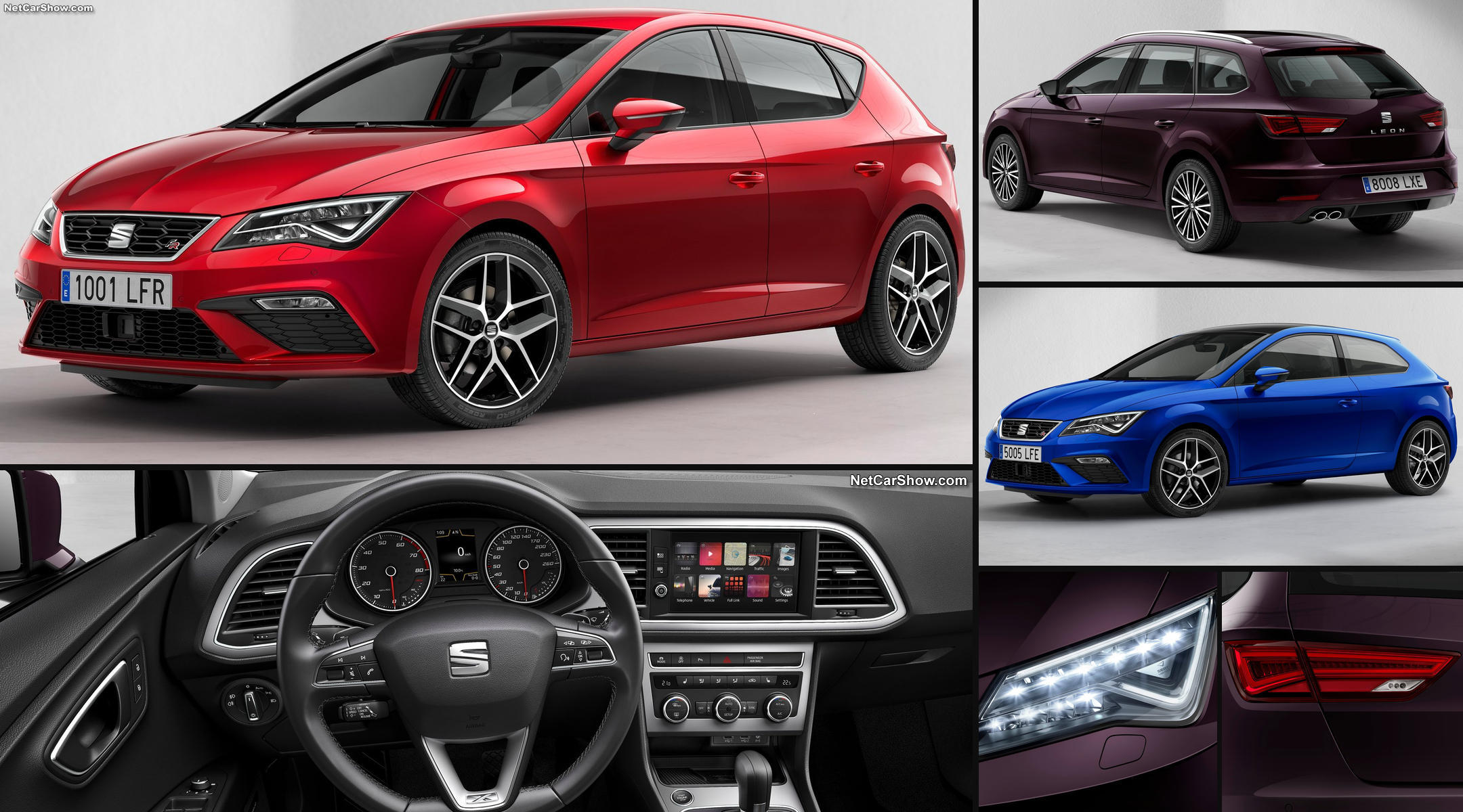 seat leon 5f facelift leon 5f. Black Bedroom Furniture Sets. Home Design Ideas