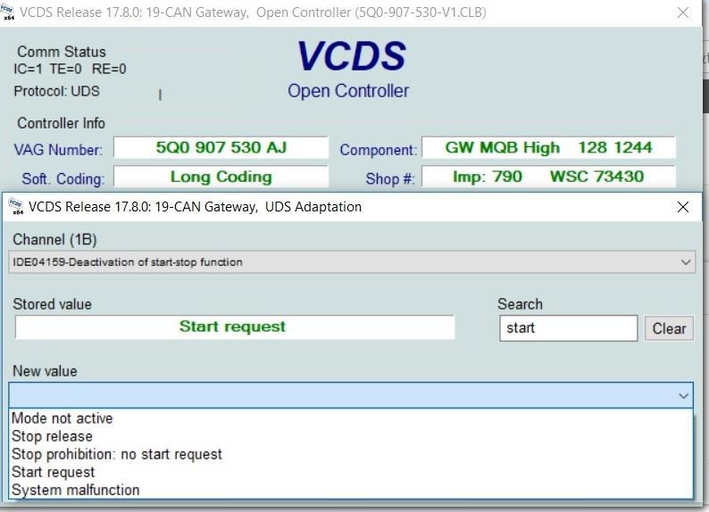 Codari VCDS - probate si functionale - Page 18 - Octavia 3 - vwForum ro